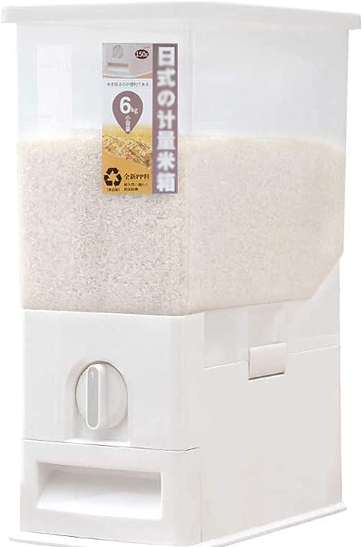 Max 86% OFF AJGH Rice Dispenser Box unisex Containe Food Storage