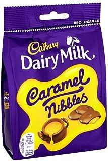 Original UK Cadbury Dairy Milk Chocolate Caramel Nibbles Bag Pouch Imported From The UK England