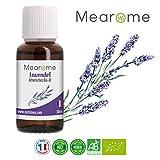 Lavendelöl BIO Ätherisches Öl 100% Naturrein - Zertifiziertes BIO-Produkt - Duft-Öl Lavendel...