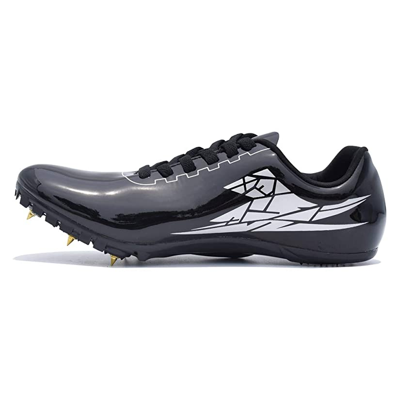 Thestron Track Shoes Spikes Mens Womens Distance Running Sneakers Athletic Sprinting Track and Field Racing Shoes with Spikes Boys Girls