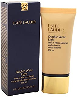 Estee Lauder SPF 10 Double Wear Light Stay-in-Place Makeup with Intensity 3.0, 1 Ounce