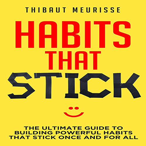 Habits That Stick audiobook cover art