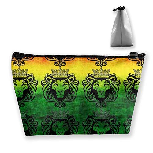 Trousse à crayons Rasta Lion Cool Pouch Portable Cosmétique Sac à main Porte-monnaie Voyage Toiletry Beach Wash Bag