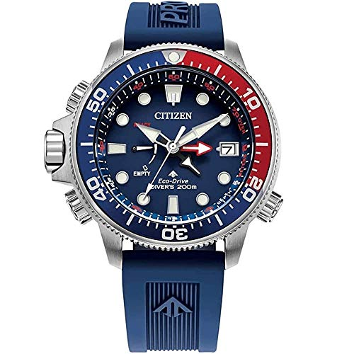 Citizen BN2038-01L Men's Promaster Aqualand Blue Strap Dive Watch