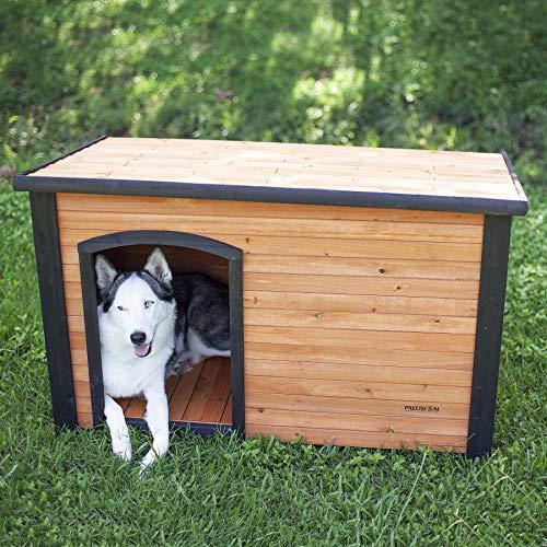 Petmate Precision Extreme Outback Log Cabin Dog House, Large