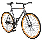 Retrospec Harper Single-Speed Fixie Style Urban Commuter Bike with Coaster...