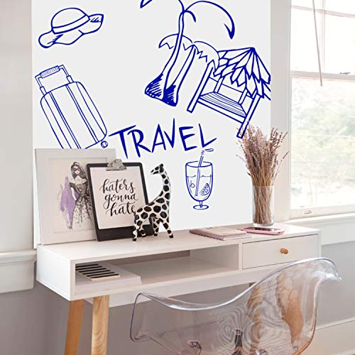"""Prefer Green Self-Adhesive Whiteboard Wall Decal Sticker, 78.7"""" × 17.5"""" Extra Large Strong & Durable Dry Erase Wall Paper Message Board for Kids, Office, School & Home with 1PCS Marker Pen (White) Photo #5"""