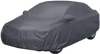 ARNV Mirror Pocket, Fabric Car Body Cover for Honda City iVtec (Grey)