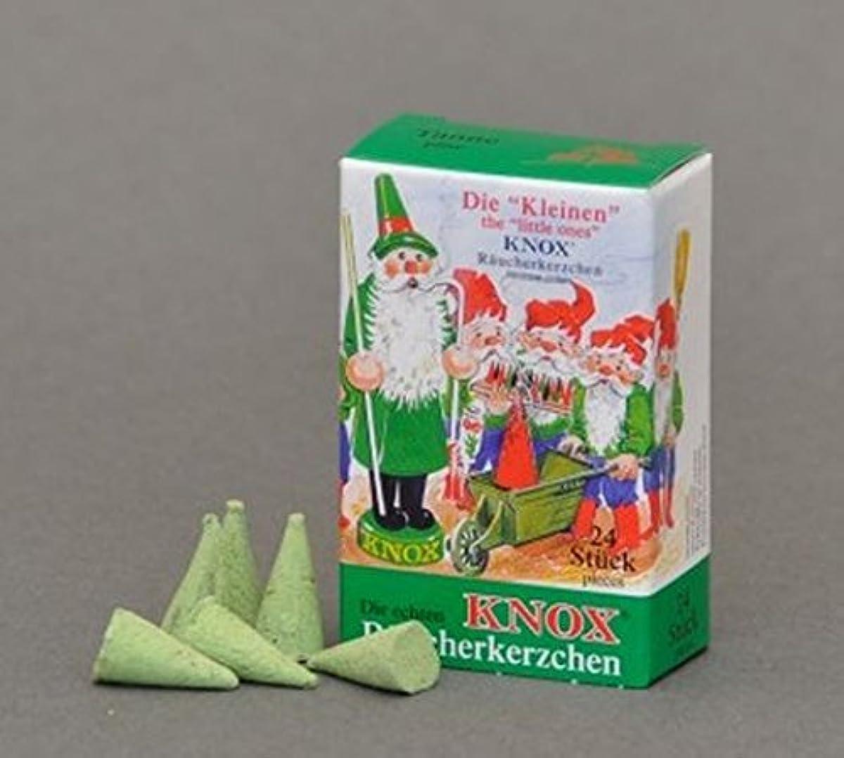 羽お酒雑多なKnox(ノックス) ミニ松の香り ドイツのお香コーン ドイツ製 クリスマスのスモーカー