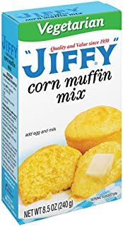 product image for Jiffy Vegetarian Corn Muffin Mix - 8.5 OZ Box - Pack of 3