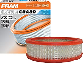 FRAM Extra Guard Air Filter, CA3647 for Select Buick, Cadillac, Chevrolet, GMC, and Pontiac Vehicles