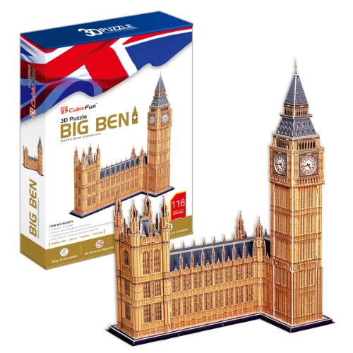 3D three-dimensional puzzle Big Ben BIG size (japan import)