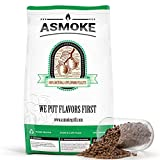 ASMOKE Wood Pellets for Smoker 20 lbs, 100% Pure Food-Grade Apple Wood Flavor | BBQ Cooking Pellets - Real Fruit Wood Straight from The Orchard - Smoker Pellets for Pellet Grill