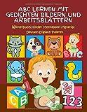 ABC Lernen Mit Gedichten Bildern Und Arbeitsblättern Wörterbuch Kinder...