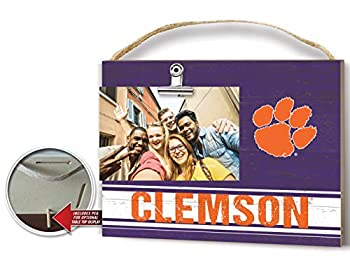 KH Sports Fan Team Colore Clemson Tigers Clip Logo Photo Frame