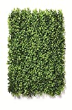 Sun Shine Artificial Small Leaves Vertical Wall Grass Tiles for Home & Balcony