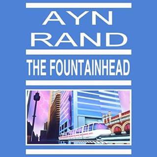 The Fountainhead audiobook cover art