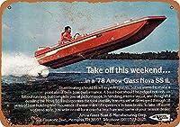 Speed Boat ティンサイン ポスター ン サイン プレート ブリキ看板 ホーム バーために