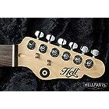 ギターペグ用 ワッシャー 6個セット Gibson(ギブソン)/レスポール/SG/ES-335/エピフォンなど対応 Rivets 黒