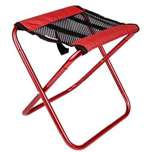 C-Xka Portable Leichte Klappstuhl Camping Hocker Outdoor Klapp Camping Stuhl für Backpacking Wandern Angeln Reisen Garten BBQ mit Trage Sack