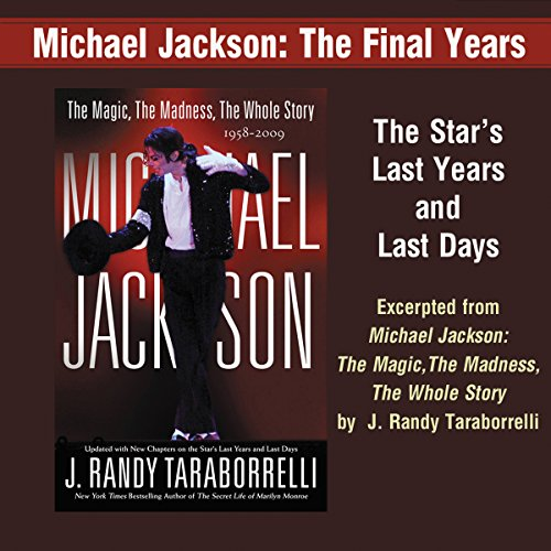 Michael Jackson audiobook cover art