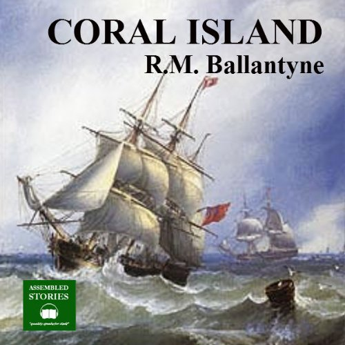 The Coral Island audiobook cover art