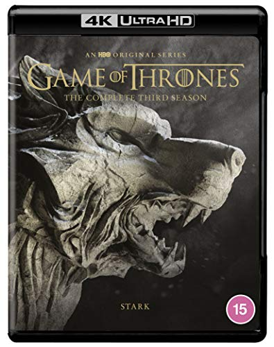 Game of Thrones: Season 3 [4K Ultra HD] [2013] [Blu-ray] [Region Free]