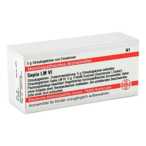 DHU Sepia LM VI Globuli, 5 g Globuli
