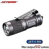 Flashlight,OVERMAL New Portable JETbeam JET-II MK Cree XP-L HI 510 Lumens Waterproof LED Flashlight