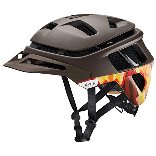 Smith Optics Forefront Adult MTB Cycling Helmet - Matte Root Lasso/Small