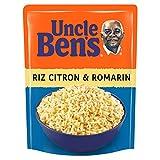 UNCLE BEN'S Riz Citron & Romarin - Express 2 min au micro-onde ou à la poêle - 250...