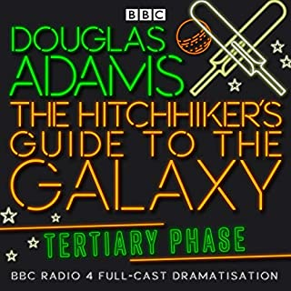The Hitchhiker's Guide to the Galaxy, The Tertiary Phase (Dramatised) cover art