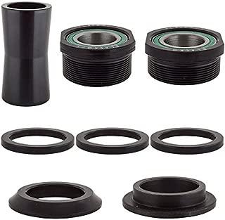 Black Ops Bottom Bracket Cup Set, Euro 19mm, Black