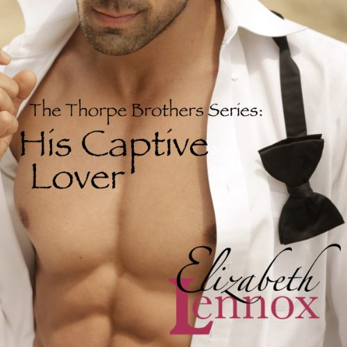 His Captive Lover audiobook cover art