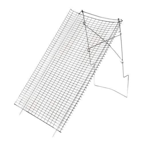 bellissa Hochwertiges Durchwurfsieb Metall-Gartensieb rund - als Erdsieb, Kompost-sieb verwendbar Ø 39 – 100 x 60 cm