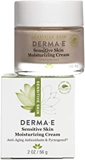 DERMA E Sensitive Skin Moisturizing Cream with Pycnogenol Vitamins A, C and E 2oz