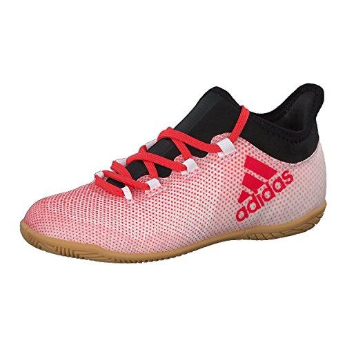 Adidas X Tango 17.3 In J, Zapatillas de fútbol Sala Niños Unisex niño, Gris (Gris/Correa/Negbas 000), 28 EU
