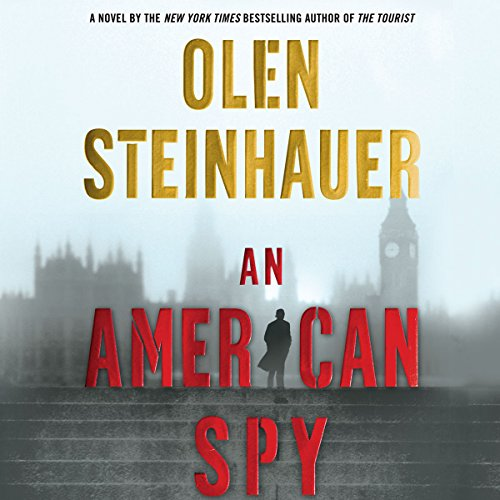 An American Spy audiobook cover art