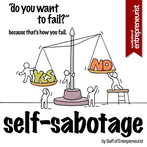 Self-Sabotage audiobook cover art