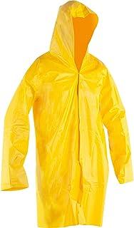 Capa para Chuva de PVC, com Forro, Nove54, Amarela, G