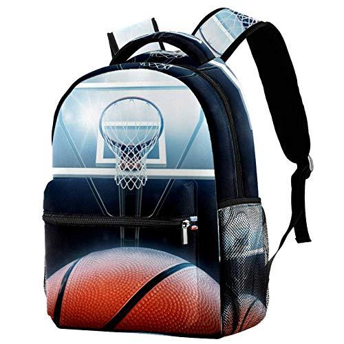 Grundschule Schultasche Basketballkorb Teenager Mädchen Schulrucksack ergonomischer Kinderrucksack Jugendliche 29.4x20x40cm