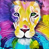 """Lion Diamond Painting Kits for Adults or Teens - Lion Diamond Art Painting Teens 