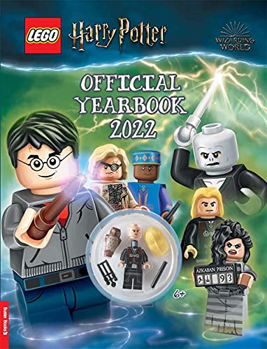 LEGO® Harry Potter™: Official Yearbook 2022 (with minifigure)