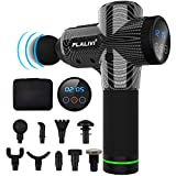 Flalivi Massage Gun Deep Tissue Percussion Muscle Massager for Muscle Tension Relief, Handheld Electric Body Massager with 20 Adjustable Speed, 9 Head, Quiet & Comfortable Muscle Soreness Relieves