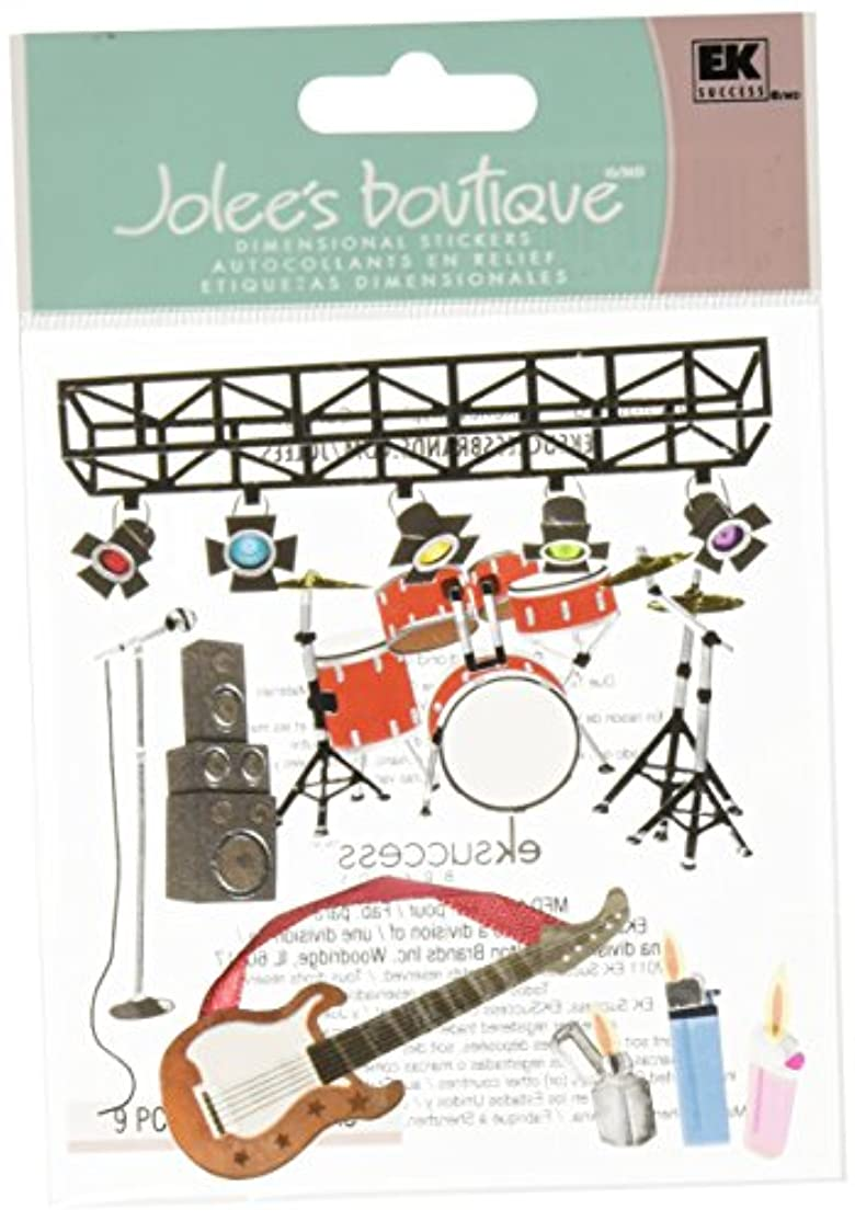 Jolee's Boutique Themed Ornate Stickers, Concert qffyoe1463