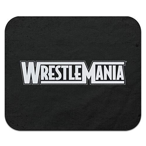 WWE Wrestlemania Logo Low Profile Thin Mouse Pad Mousepad