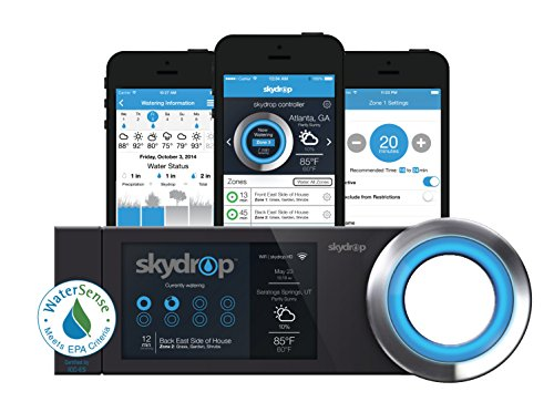Skydrop Halo Smart Sprinkler System Controller | Alexa and Google Home Enabled | WiFi Connected |...