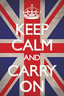Keep Calm and Carry On Poster 60 x 90 cms