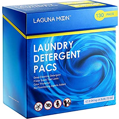Lagunamoon Laundry Pods   3 in 1 Laundry Deterg...