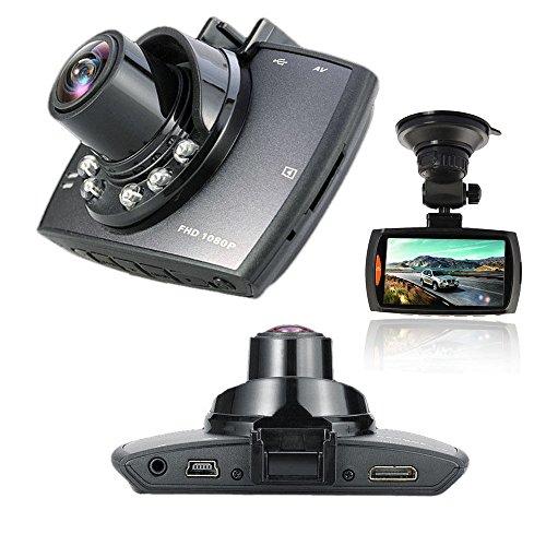 "BEST SHOPPER 1080P 2.7"""" LCD Car Camera Full HD Dash Cam Crash DVR G-Sensor Night Vision HDMI - Black"